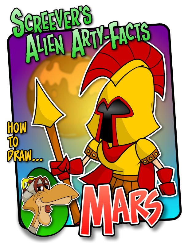 Screever's Alien Arty-Facts